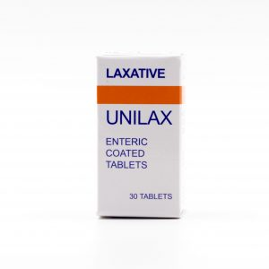 Laxative Unilax Enteric Coated Tablets 1